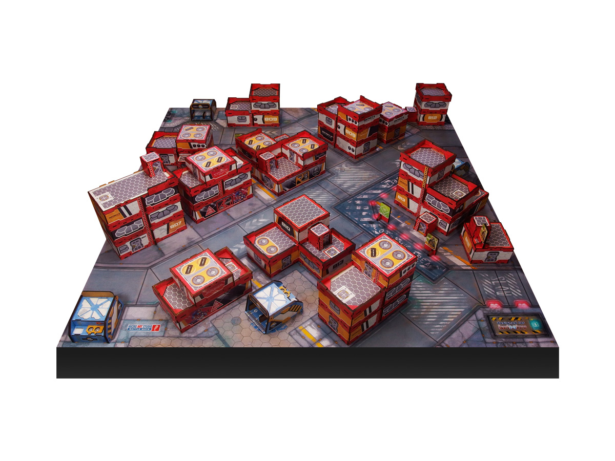 District 5 PREPAINTED (red) Full Experience bundle