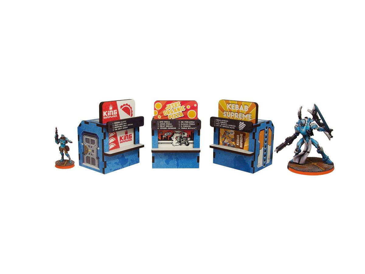 District 5 Food Booths (3) PREPAINTED (blue)
