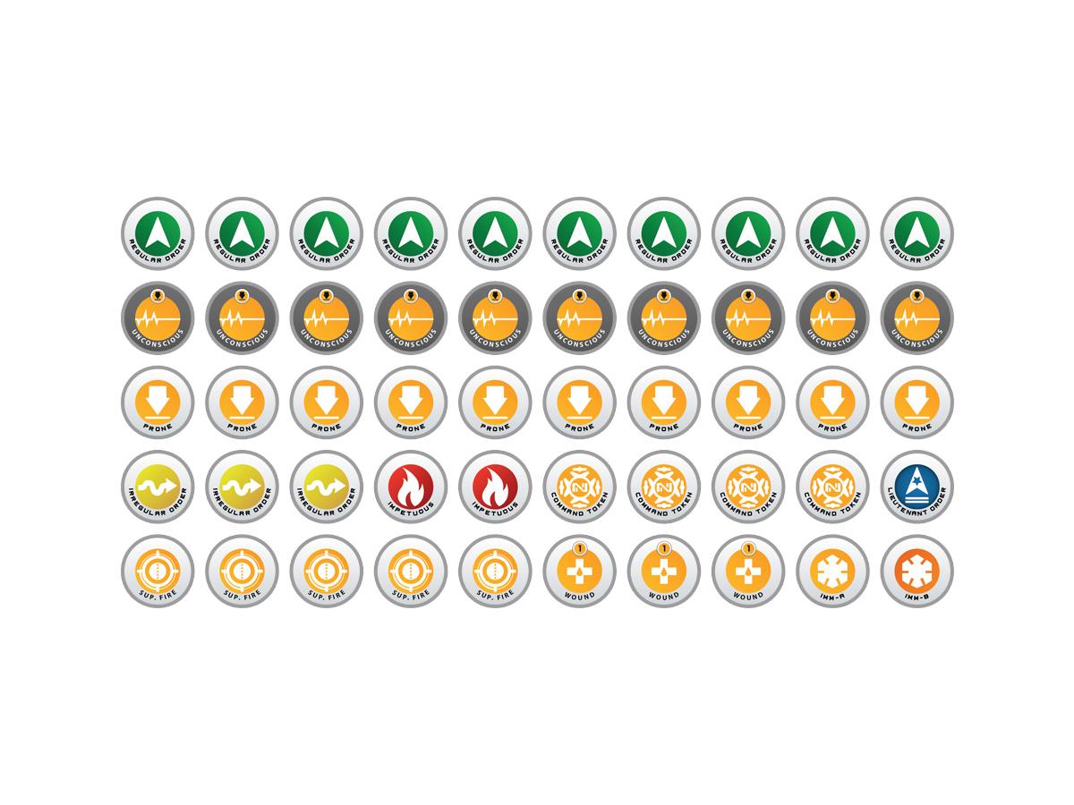 Infinity Tokens Starter Set N4 (50)