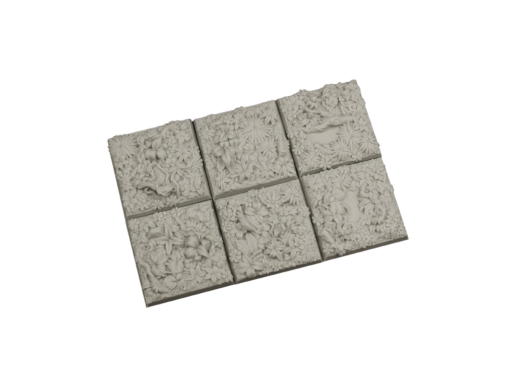 Jungle Bases 40x40mm (5)