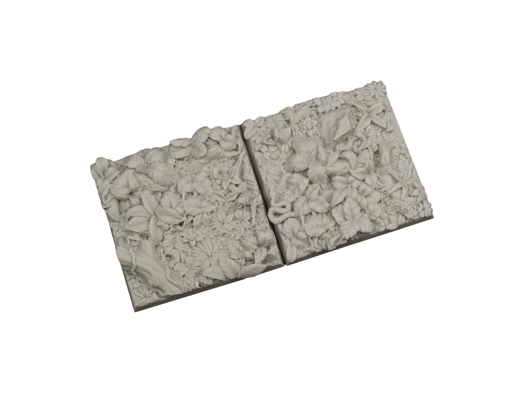 Jungle Bases 50x50mm (2)