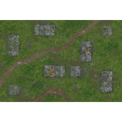 War Game Mat - 72x48inch - Outpost