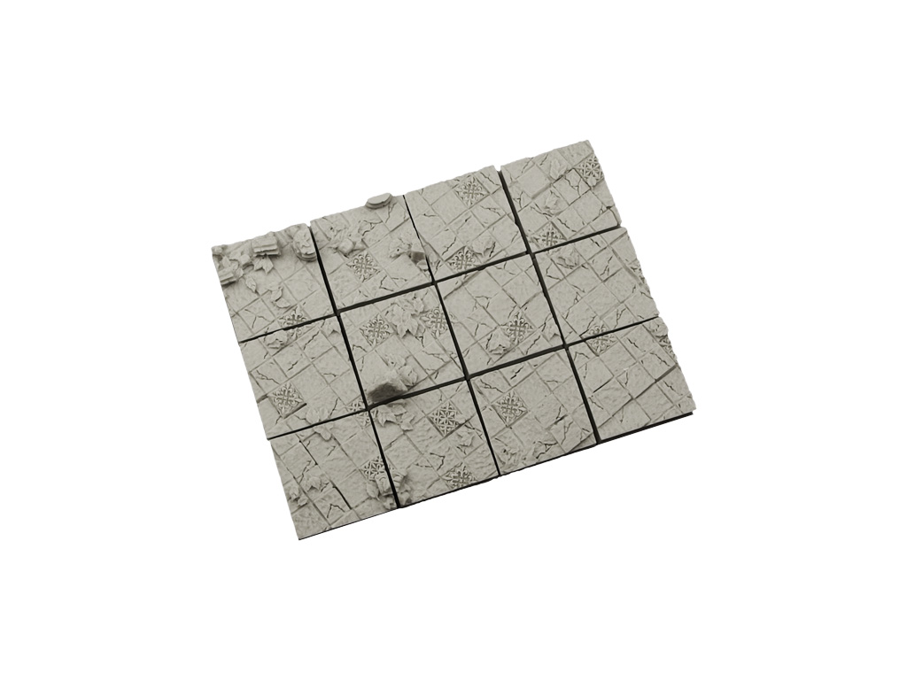 Ancient Bases 25x25mm (10)