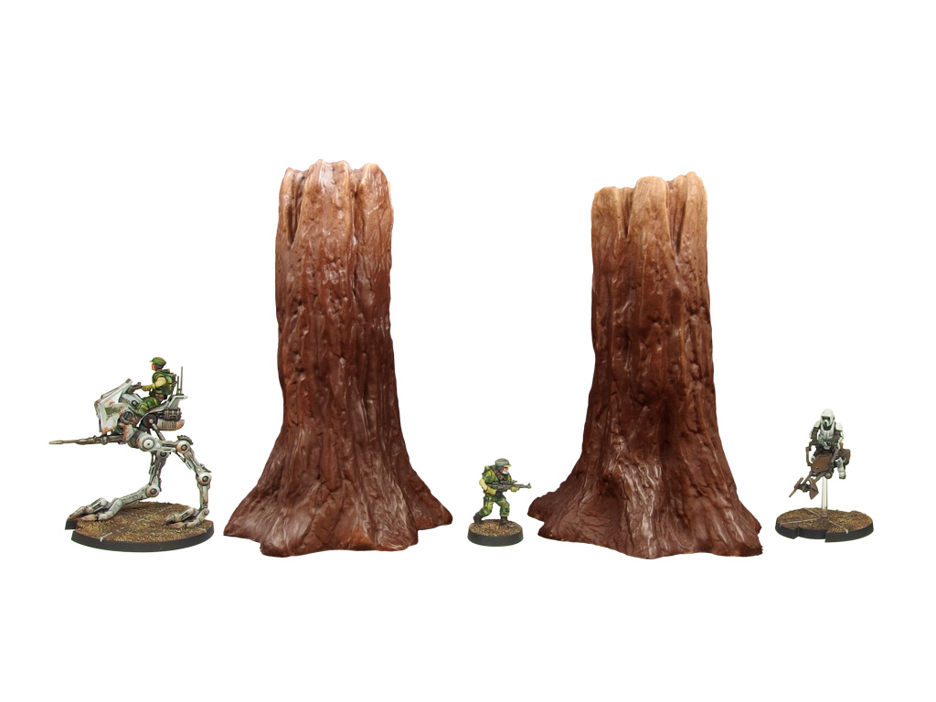 SWL Forest Trees Standing Set 2 (2)