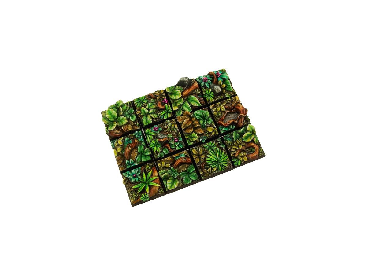Jungle Bases 20x20mm (10)