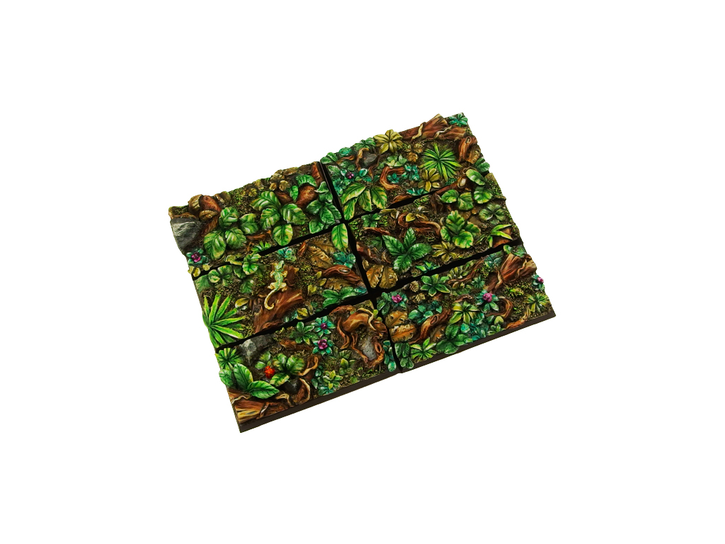 Jungle Bases 25x50mm (5)