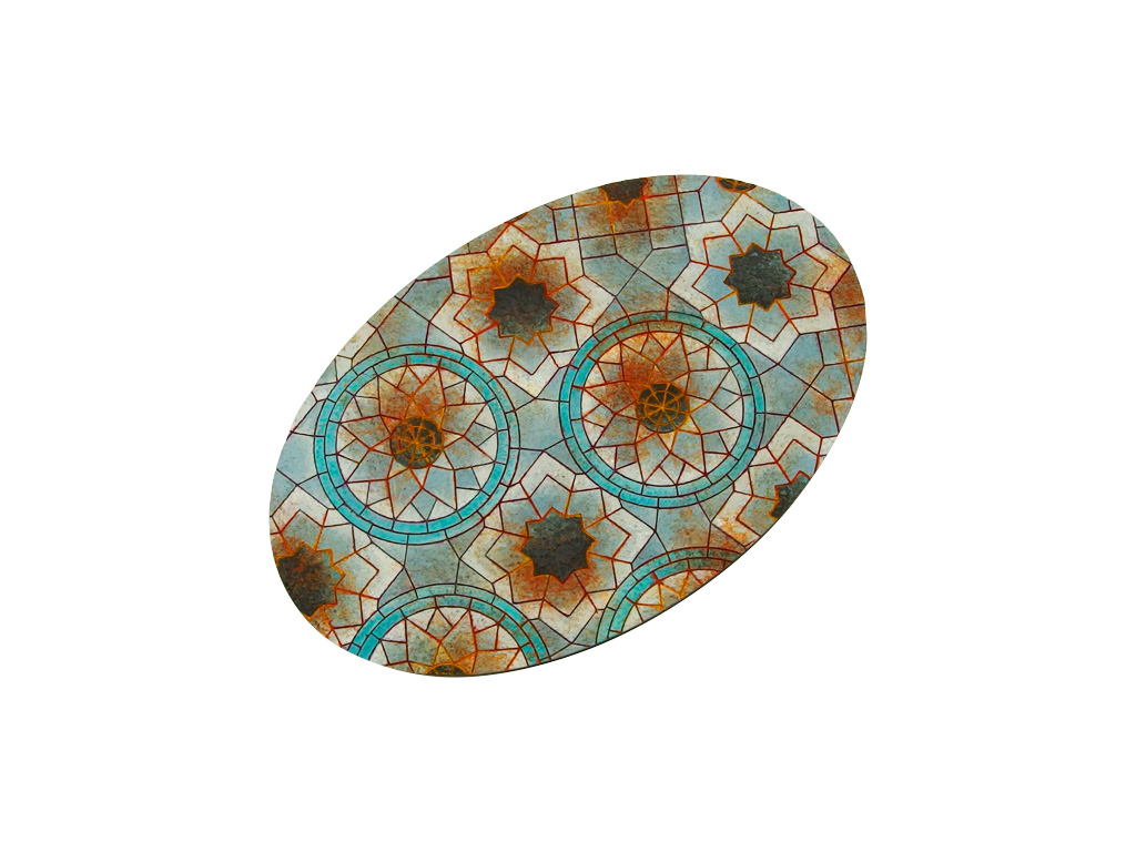 Mosaic Bases, Oval 170x105mm (1)