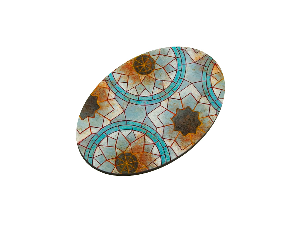 Mosaic Bases, Oval 105x70mm (1)