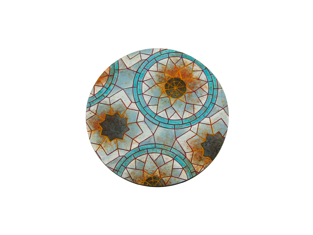 Mosaic Bases, Round 90mm (1)