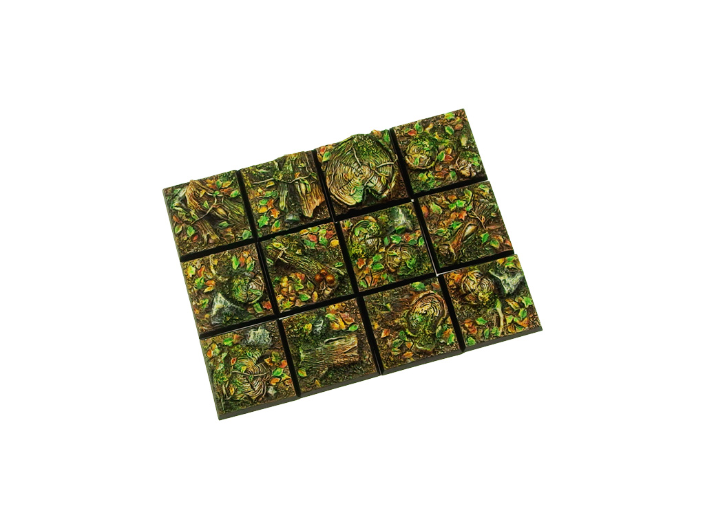 Forest Bases 25x25mm (10)