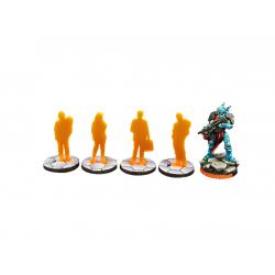 ITS Civilian Marker Orange (4)