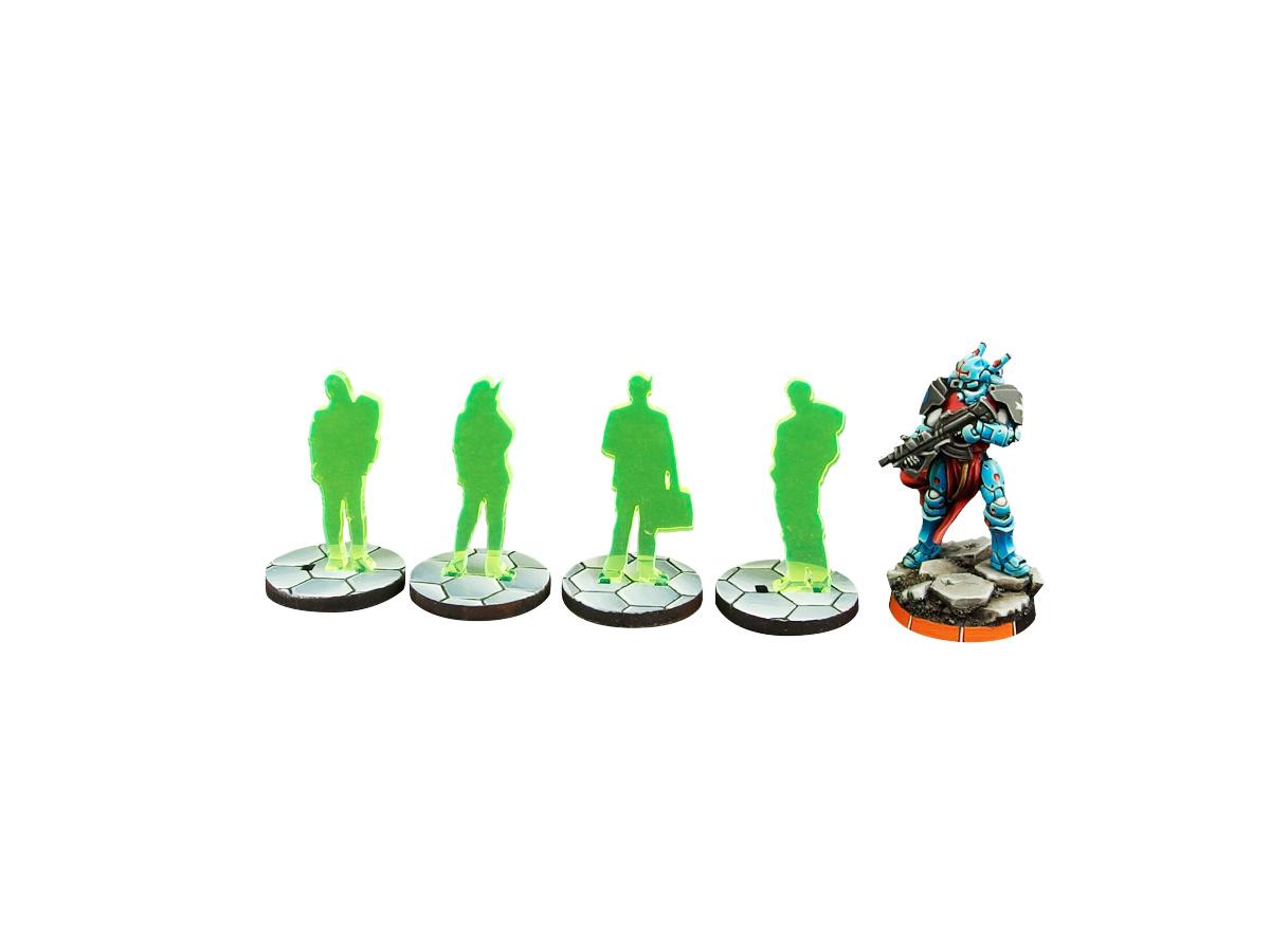 ITS Civilian Marker Green (4)