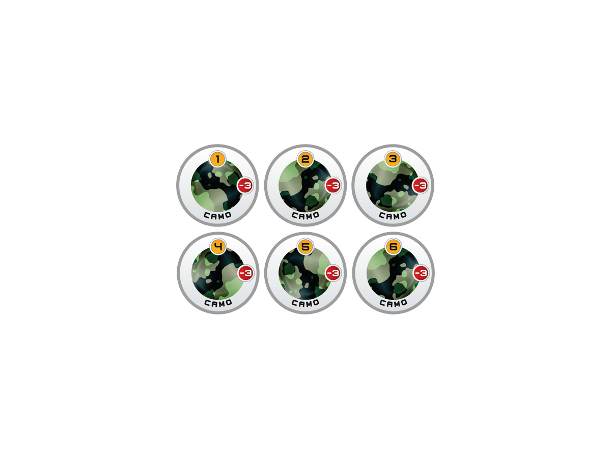 N4 Infinity Tokens Camouflage -3 (6)