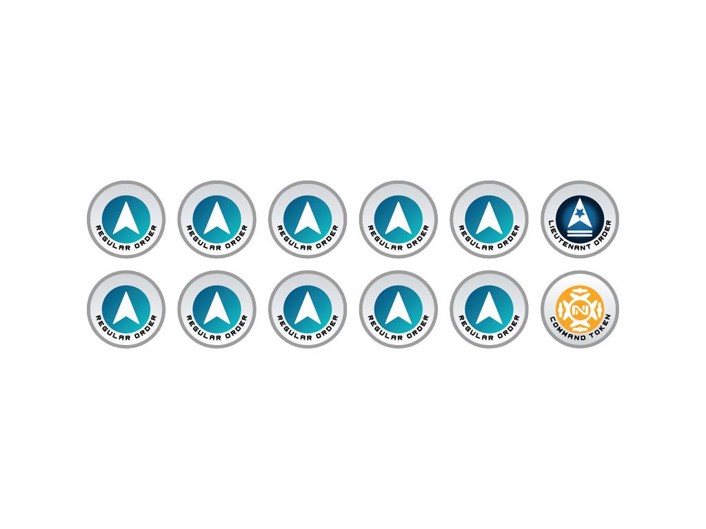 N4 Infinity Tokens Regular Orders Blue (12)