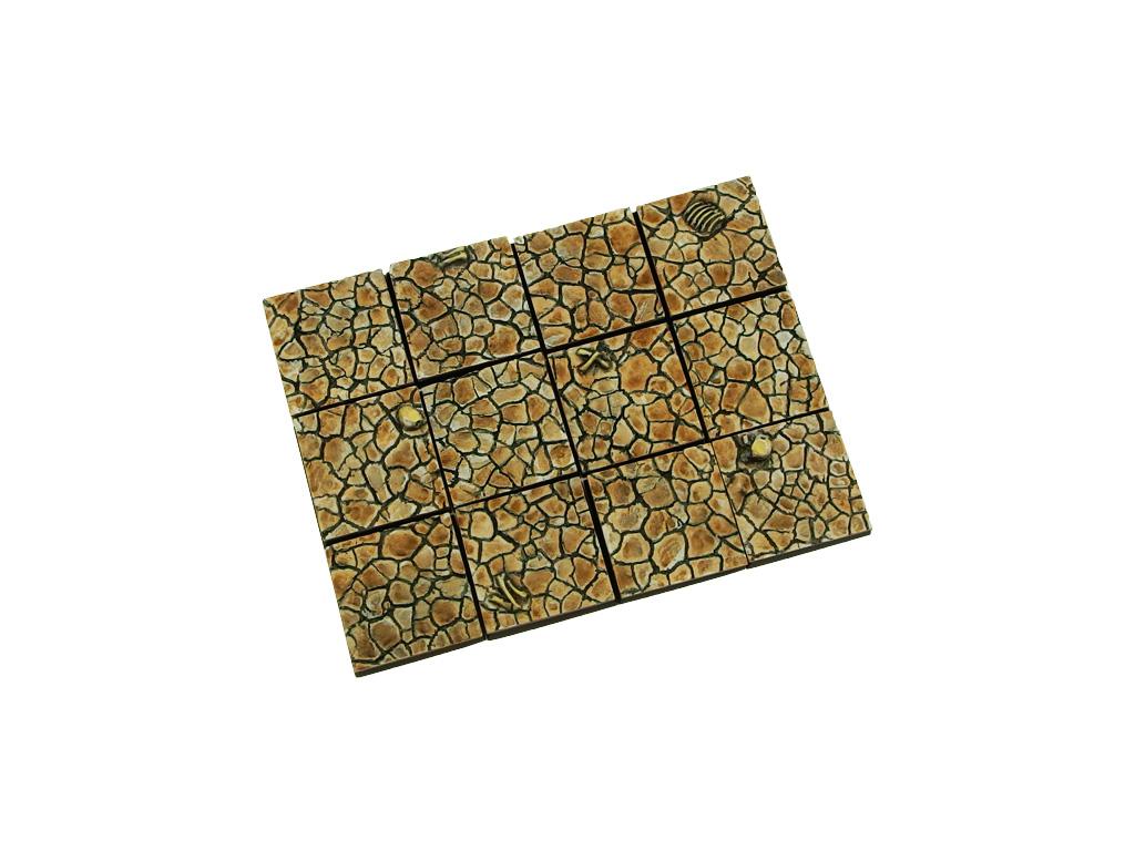 Wasteland Bases 25x25mm (10)