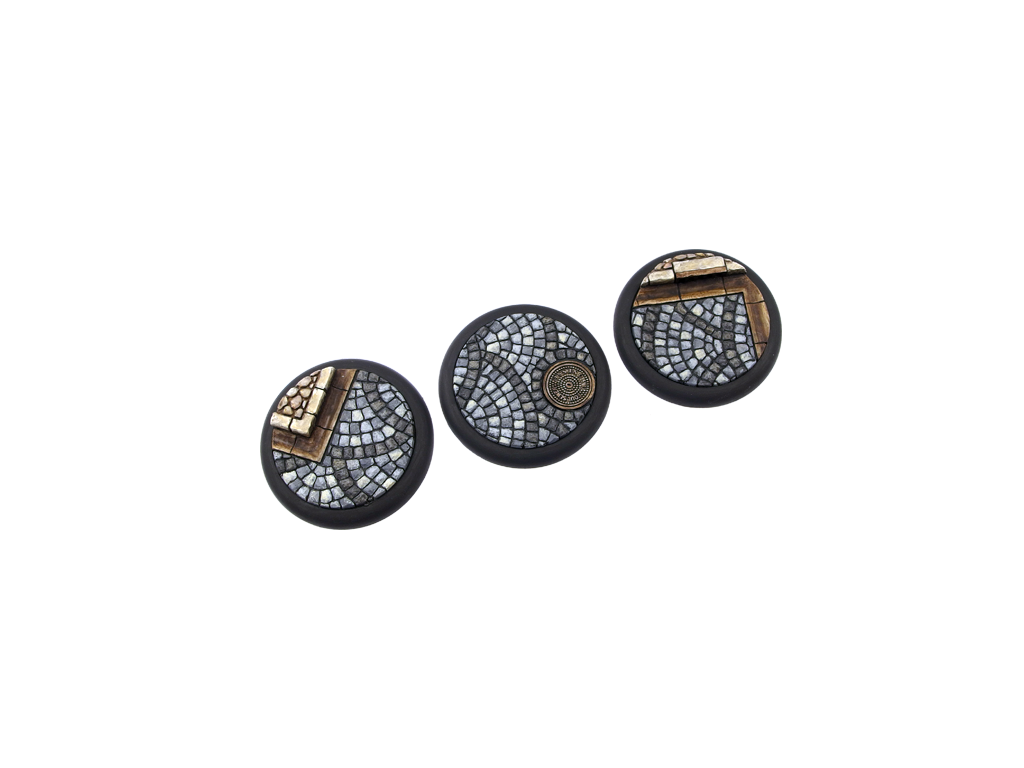 Cobblestone Bases, WRound 50mm (1)