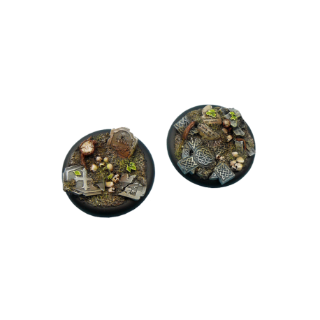 Graveyard Bases, Wround 50mm (1)