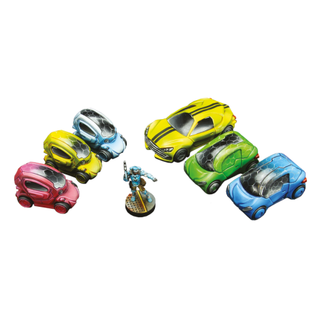 City Cars set (6)