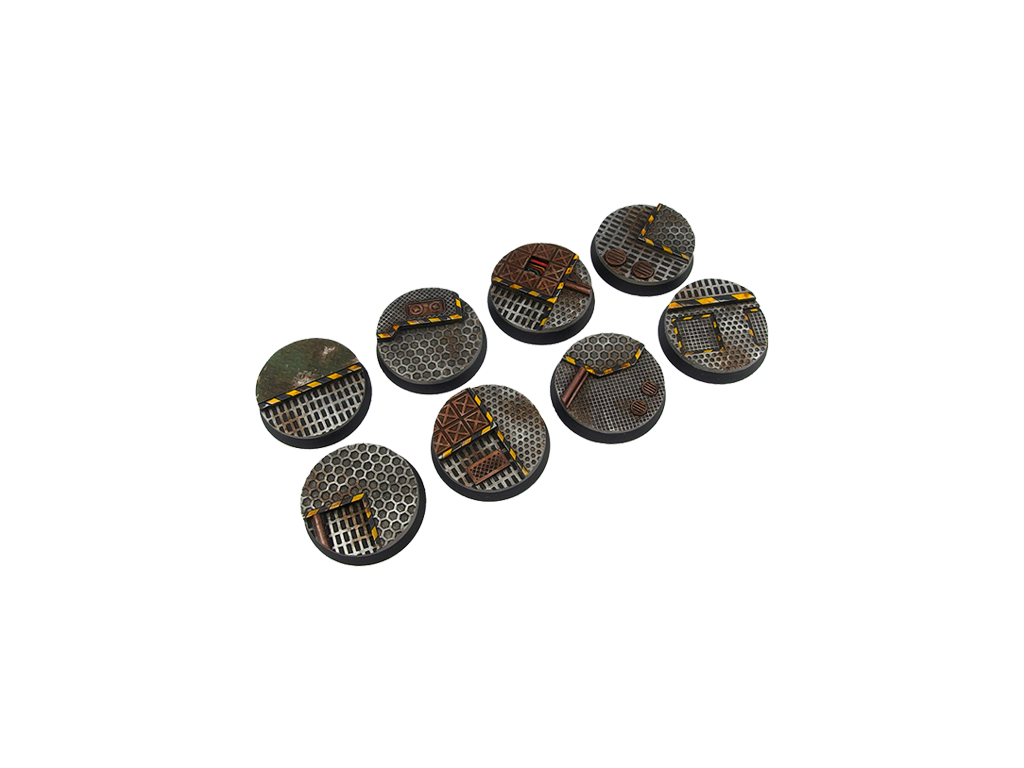 Tech Bases, Round 32mm (4)