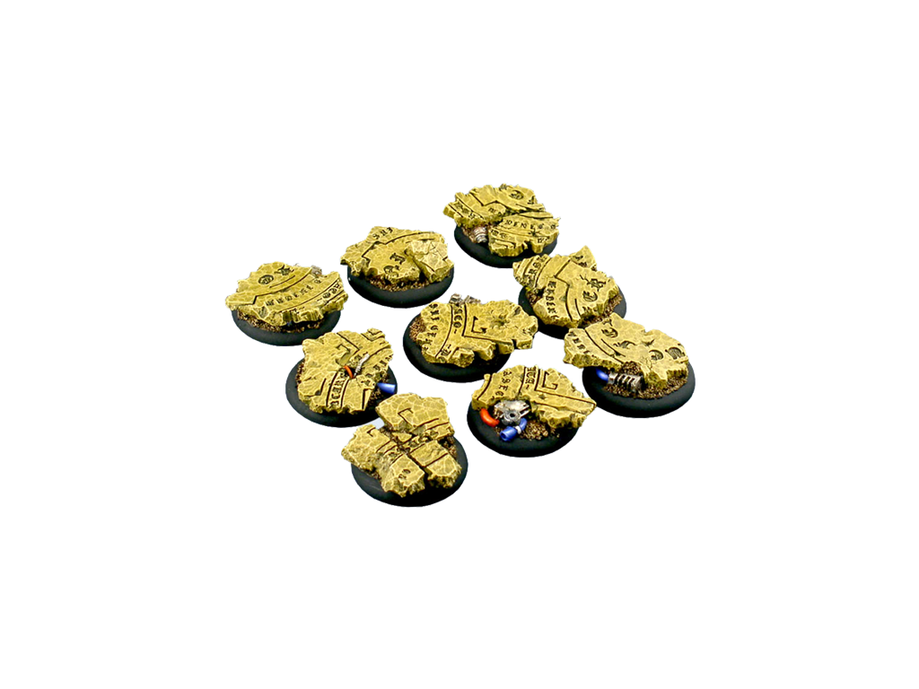 Temple Bases, WRound 30mm (5)