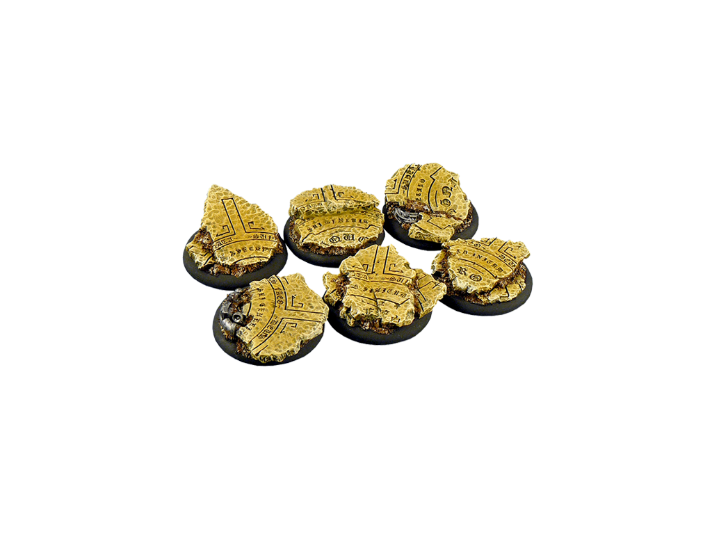 Temple Bases, WRound 40mm (2)
