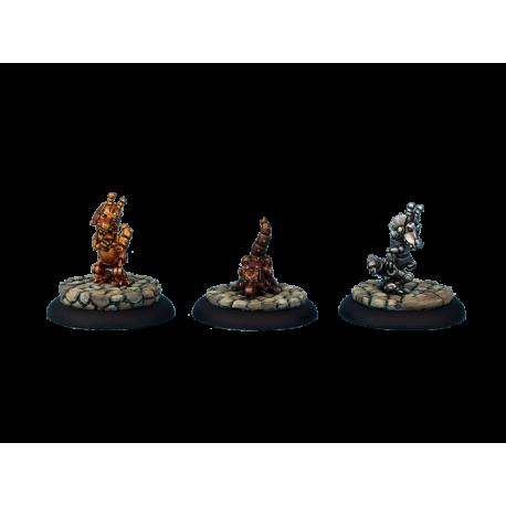 Triad of Lotus Dragon - Golemic Dragonlings (3)