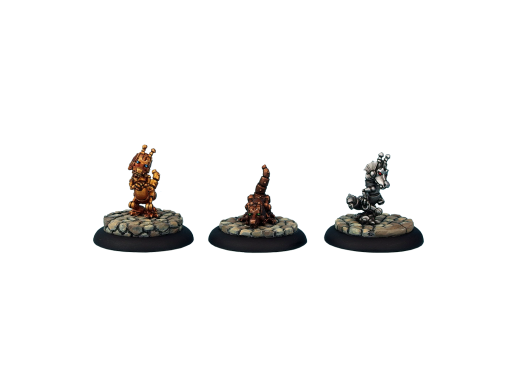 Triad of Lotus Dragon - Golemic Dragonlings (3)