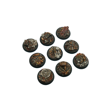 Trash Bases, WRound 30mm (5)