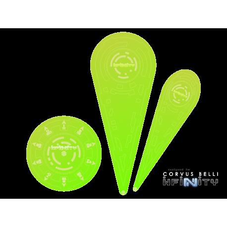 "Infinity Templates ""Green"" (3)"